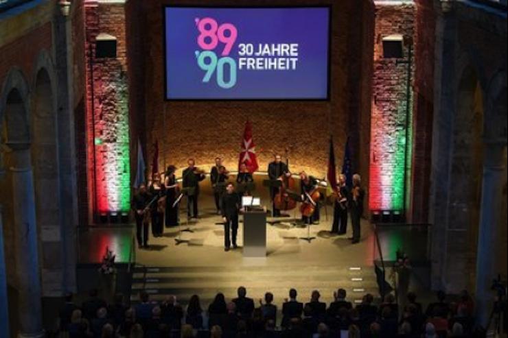 Musikalischer Abendrahmen durch das Jewish Chamber Orchestra München