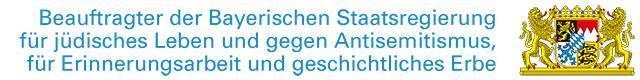 Antisemitismus Beauftragter Bayern Logo