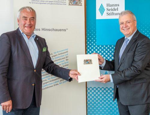 Hanns-Seidel-Stiftung und Regierungsbeauftragter Spaenle gemeinsam gegen Antisemitismus